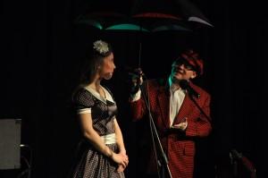 z piosenką mini parasol